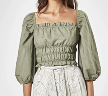 Load image into Gallery viewer, Boheme Top in Khaki