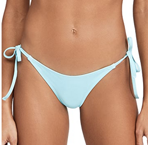 The Iris Bikini Bottom in Pearl Metallic Combo