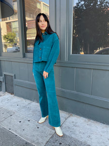 Spa Jacket Teal