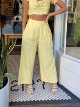 Load image into Gallery viewer, Lucy Pants, Lemon Drop Plaid