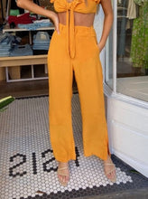 Load image into Gallery viewer, Celina Belted Pants Marigold