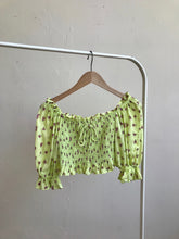 Load image into Gallery viewer, Isadora Top Luda Floral Lime