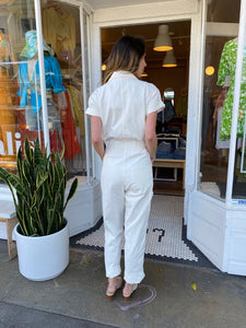 Grover Field Suit in Antique White