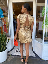 Load image into Gallery viewer, Marley Mini Skirt in Cheetah