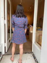 Load image into Gallery viewer, Lilith Blue Floral Dress