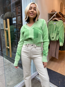Suburban Knit in Palm Green