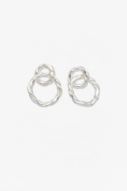 Strictly Speaking Earring Silver