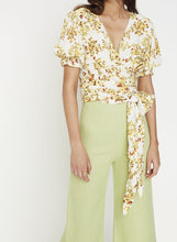 Load image into Gallery viewer, Mali Floral Wrap Top