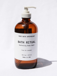 Bath Ritual Body Wash Amber Glass
