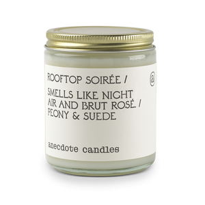 Glass Jar Candle Rooftop Soiree