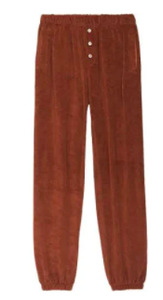 Terry Henley Sweatpant in Cinnamon