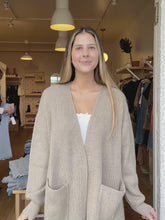 Load and play video in Gallery viewer, Jessa Ribbed Cardigan