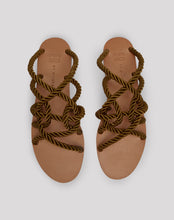 Load image into Gallery viewer, Muriel Teak Jute Sandals