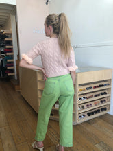 Load image into Gallery viewer, Lubina Denim Pant in Green