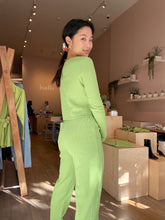Load image into Gallery viewer, Mia Top Long Sleeve in Avocado