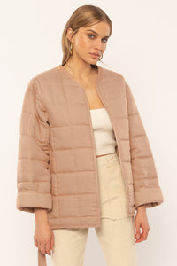 Rilo Quilted Woven Jacket