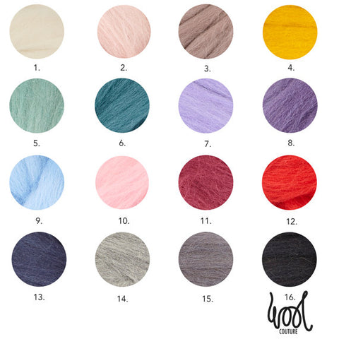 Giant Yarn Colour Chart