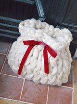 Personalised Chunky Knit Christmas Stocking (limited stock)