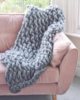 The Large Giant Knit Handmade Blanket