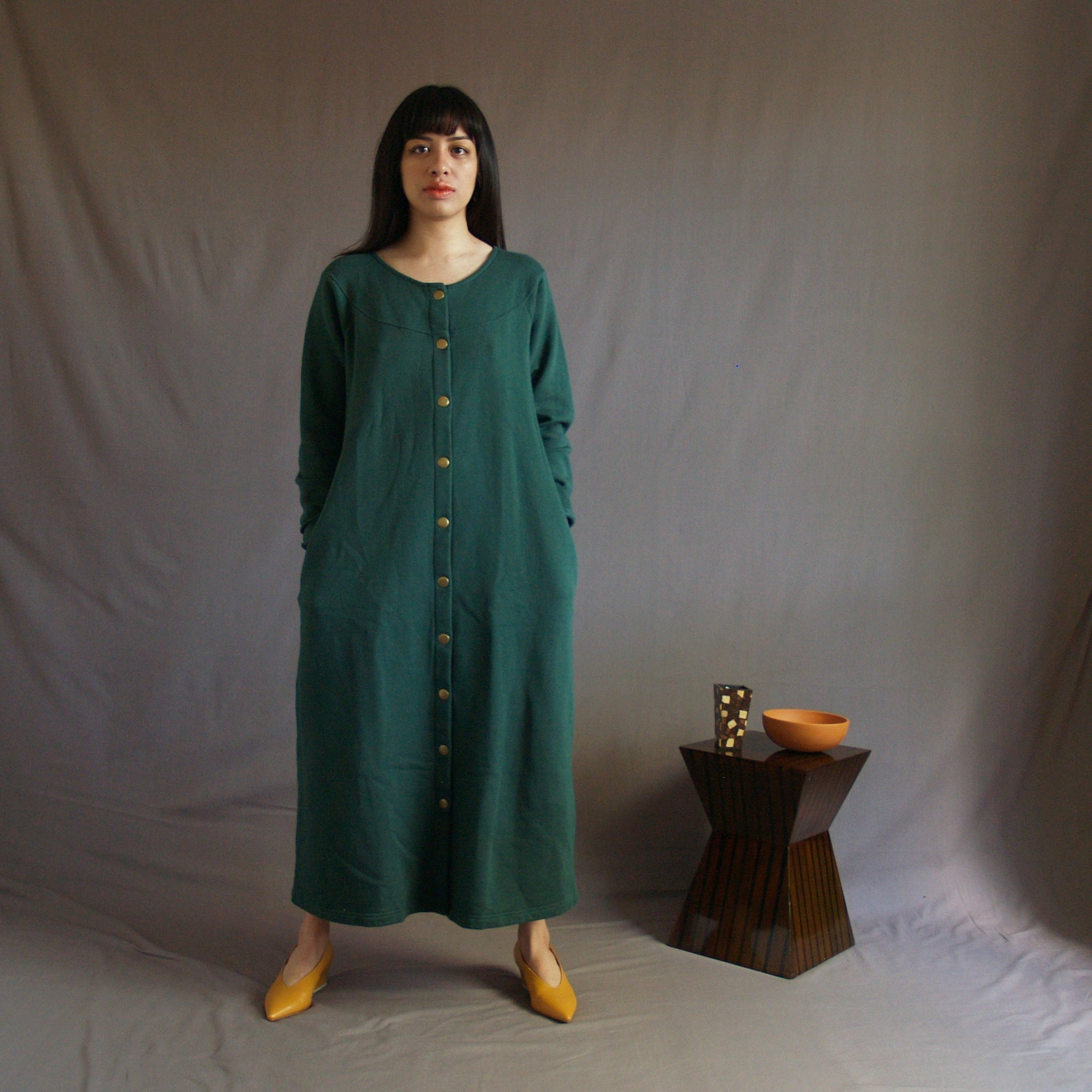 Fleece Dress