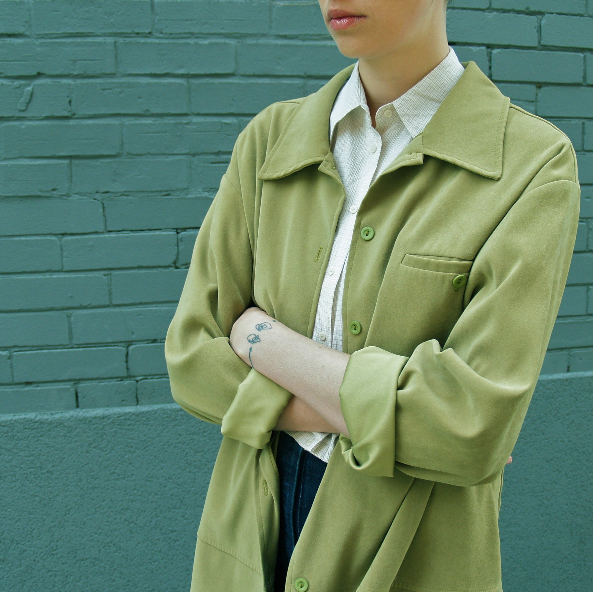 Chartreuse Light Jacket