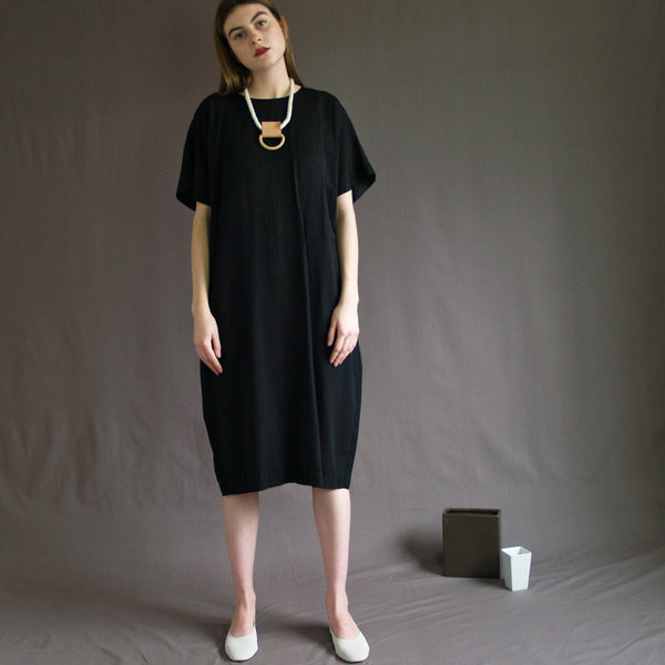 Short Sleeve Sack Dress