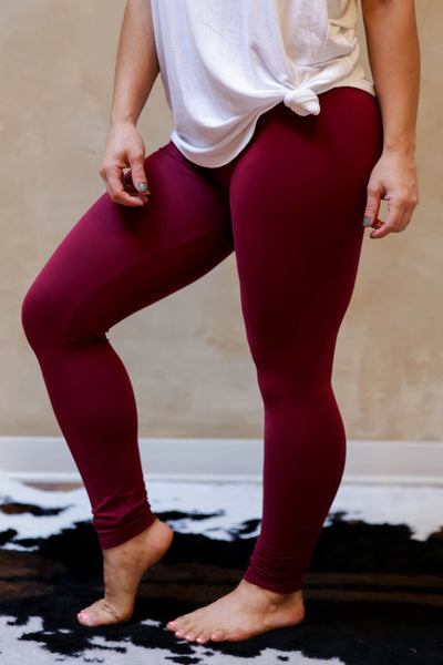 Basic Legging Wine