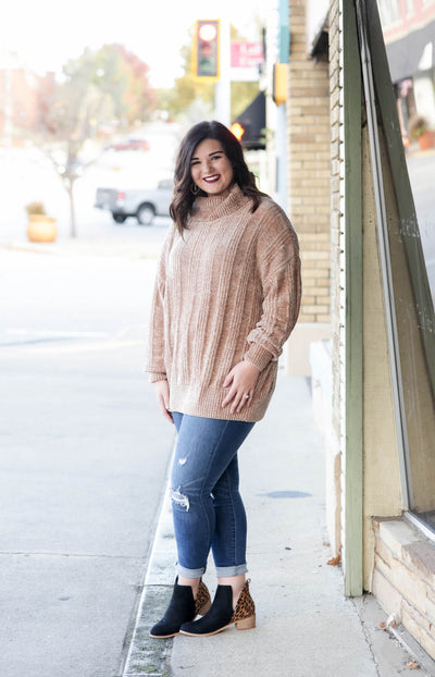The Toni Sweater - Mocha