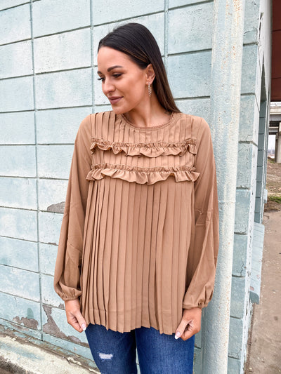 The Kali Top - Mocha