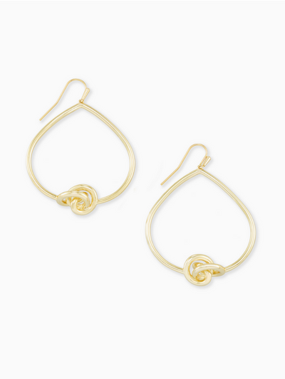 Kendra Scott- Presleigh Open Frame Ear Gold Metal