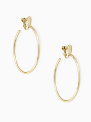 Kendra Scott: Pepper Earring Small- Gold Metal/Clip ON