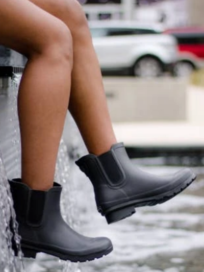 The Chelsea Roma Boot-Matte Black