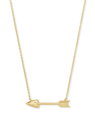 Kendra Scott: Zoey Gold Short Pendant Necklace