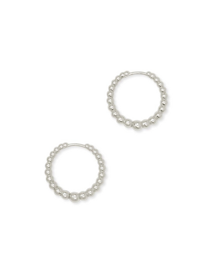 Kendra Scott : Josie Huggie Earrings In Silver