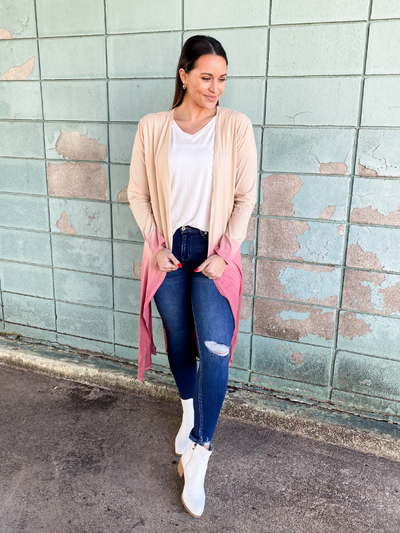 The June Ombre Cardigan