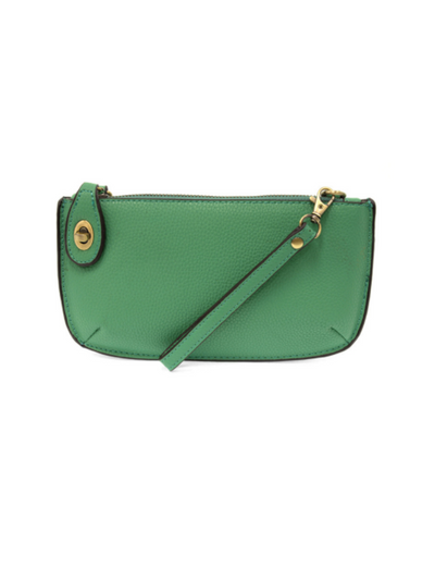 Joy Susan: Mini Crossbody & Wristlet-  Green Turquoise