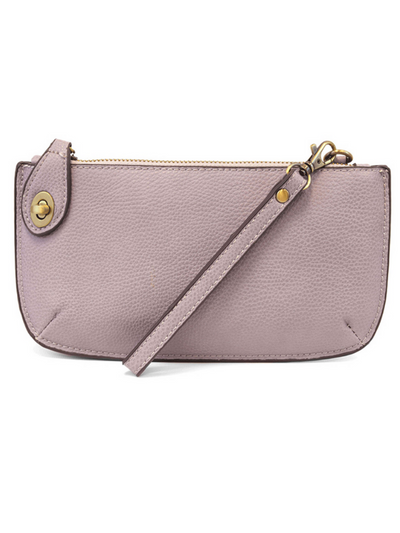 Joy Susan: Mini Crossbody & Wristlet-  Wisteria