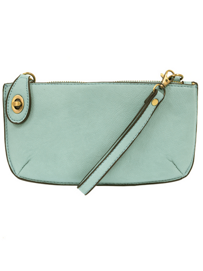 Joy Susan: Mini Crossbody & Wristlet-  Sky Blue