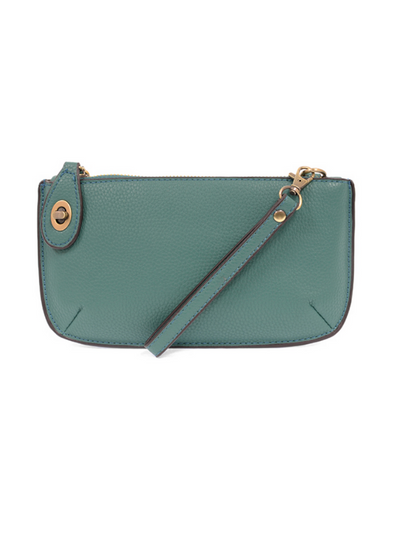 Joy Susan: Mini Crossbody & Wristlet- Ultramarine Green