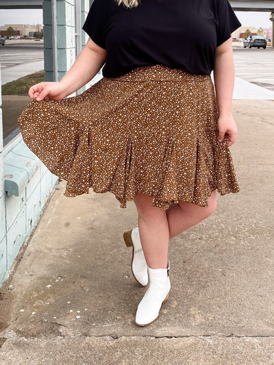 The Piper Skirt - Mocha