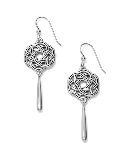 Brighton: Interlok Eternity Circle French Wire Earrings