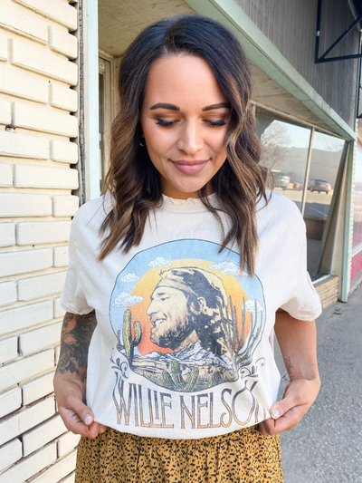 Willie Nelson In the Sky Tee