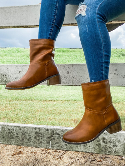 The Athena Brown Boot