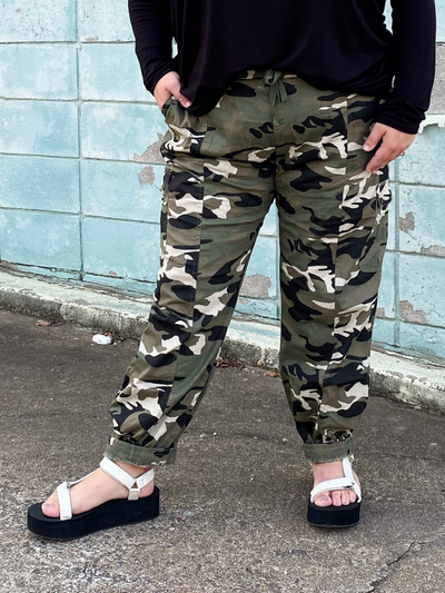 The Carly Cadet Joggers- Green