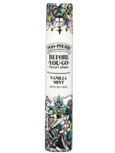 Poo-Pourri 10mL Travel Spritz in Vanilla Mint