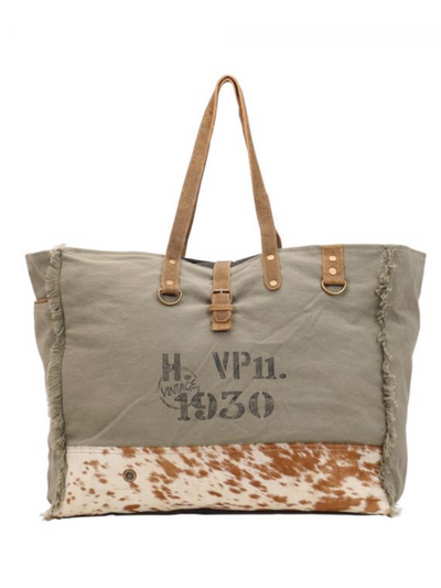 Myra Handbag- VIRIDESCENT WEEKENDER BAG