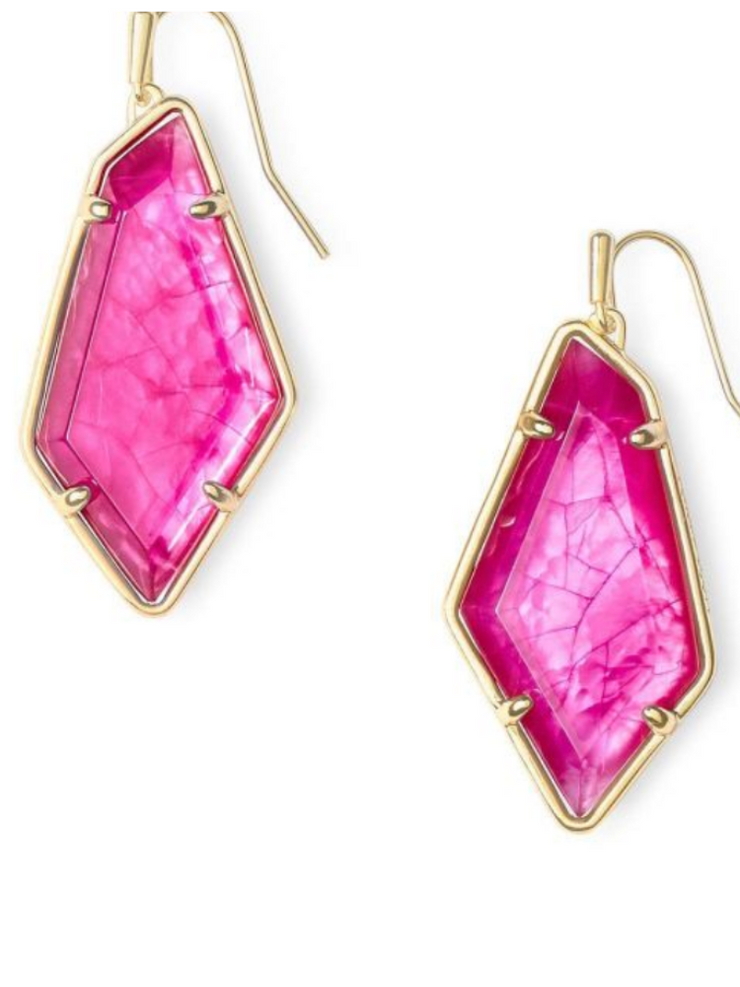 Kendra Scott Emilia Earring- Gold/Azelia Illusion