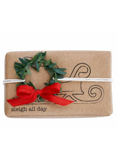 FUNNY SOAP WITH TRIMS - SLEIGH