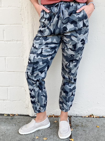 The Carly Cadet Joggers- Grey