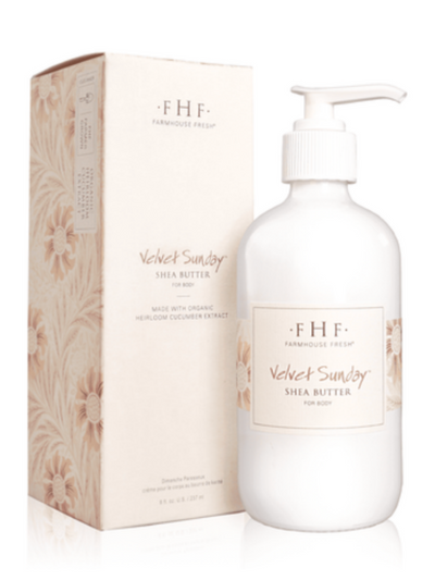 FHF Shea butter 8oz. Hand Cream : Velvet Sunday